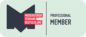 Logo des Moderatorenverband Deutschland - Professional Member