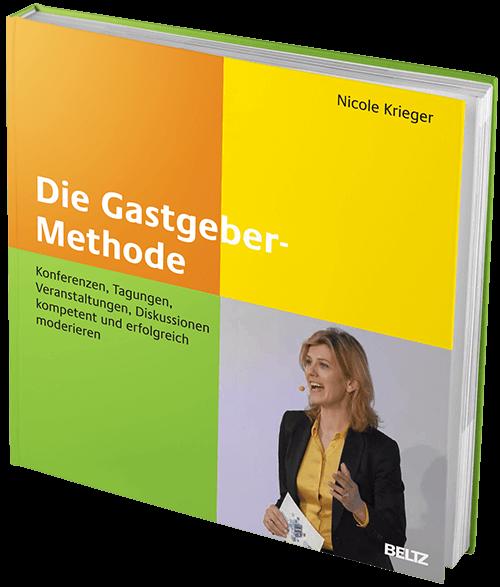 Buchcover - Nicole Krieger - Die Gastgeber-Methode