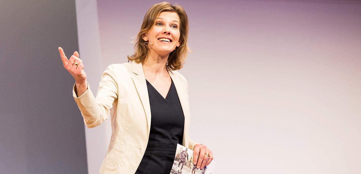 Vortragsrednerin Nicole Krieger