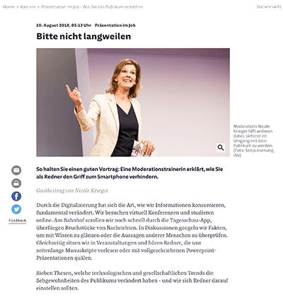Süddeutsche Zeitung - Nicole Krieger